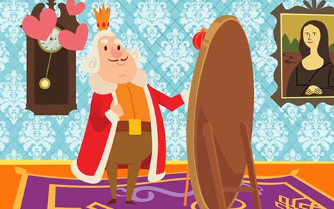 ملابس الملك الجديدة