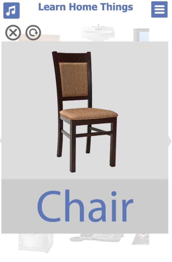 تطبيق-تعليم-اشياء-البيت-بالانجليزي-8-chair